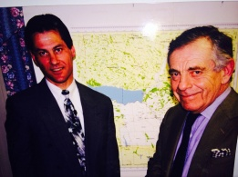 Dr. Leon Koziol with 60 Minutes host Morley Safir in Leon's office when courageous stories were aired worldwide. Will a documentary crew return ?